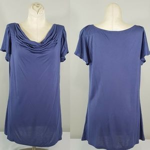 NWT ELLE  Waterfall Neck Top Size Small